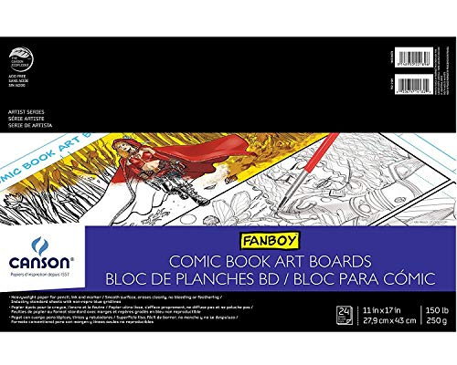 Comic Book Fanboy Canson (Canson Fanboy Comic Book Cover Sheets 1 pcs SKU# 1829644MA)