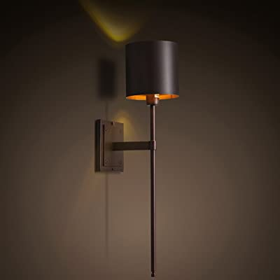 GUOQ Industriel Style Design Rétro Fer Luminaire Applique Murale Créatif  élégant Couloir Lampe Murale Pour Pour Décoration De Maison , Bar , Cuisine  , Salon ...