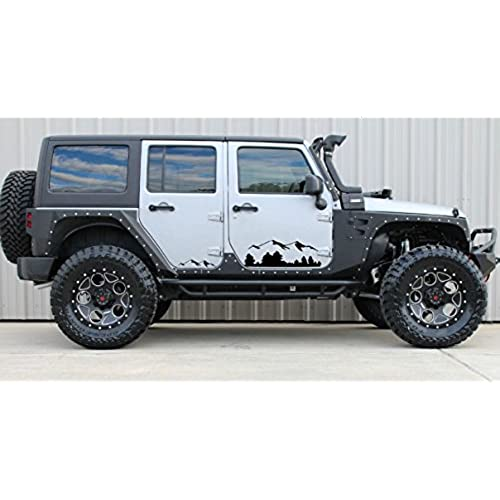 Decals For Jeep Wrangler Amazoncom - Jeep hood decalsall that wander are not lost compass jeep hood decal sticker