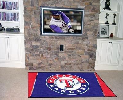 MLB - Texas Rangers 5 x 8 Rug by Fanmats