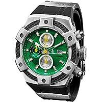 CALABRIA - ARMATO OPACO - Green Dial Men Watch with Carbon Fiber Bezel