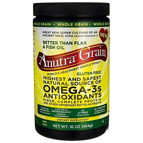 Anutra Grain Omega-3s Antioxidants 16 oz (454 grams) Pkg