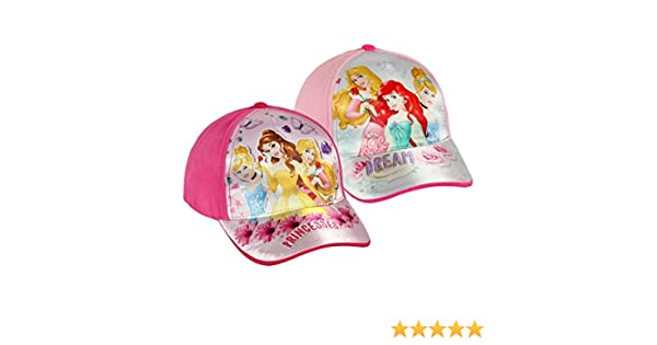 Rosa Oscuro Disney Princesses V1300117 Hat Talla /única Unisex-Child