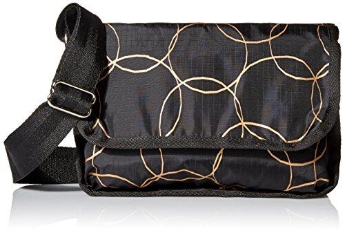 ossbody Handbag, Gold Links, One Size (Gold Link Bag)