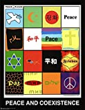 Peace & Coexistence (Languages) Art Poster Print 23 x 30in