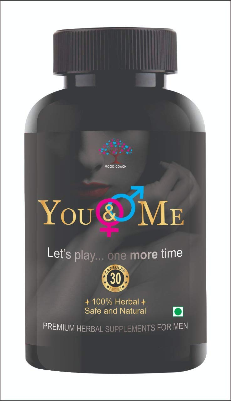 Moodcoach Mood You and Me 30 Ayurvedic Daily Energizing Vegetarian Capsules