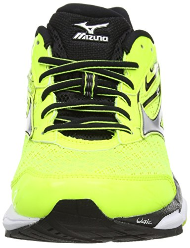 Mizuno Wave Inspire 12 - Zapatillas de running Hombre Amarillo (Safety Yellow/Silver/Black)