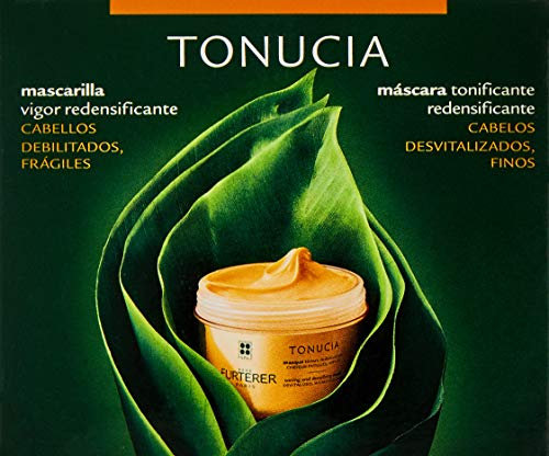 Rene Furterer TONUCIA Toning and Densifying Mask, Aging Weakened Hair, Moisturizes and Visibly Thickens