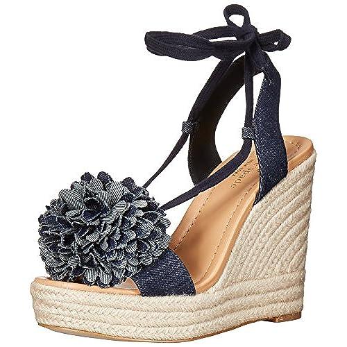 583bd6b3be92 free shipping kate spade new york Women s Daisy Espadrille Wedge Sandal