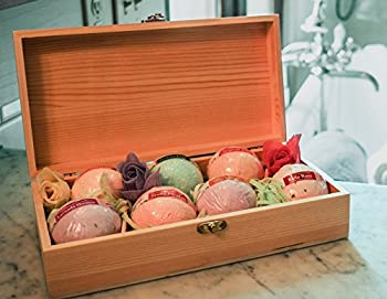 Bath Bomb Gift Box Set 7 Bei Momenti Bath Fizzies Bubble Bath Fun Gift For Women Men Kids. Handmade Natural Lush Scents Fizzy Bath Balls for a Relaxed Body and Skin Large Organic Fragrant Fizzie Gifts