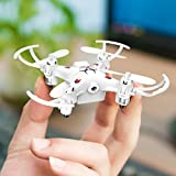 ZZRC Toys Mini drone 2.4 GHz 4 CH 6 axis gyro 0.3MP HD with aerial camera Z101(White)【Japan Domestic genuine products】