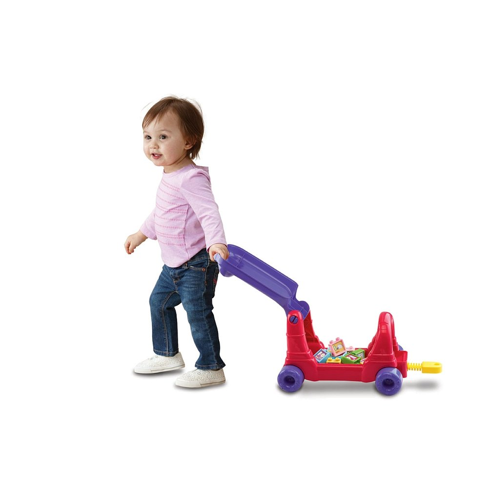 VTech Sit-to-Stand Ultimate Alphabet Train, Pink by VTech (Image #5)