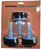 Razorba Back Hair Shaver Razorba Stud Stamper Applicator Brush