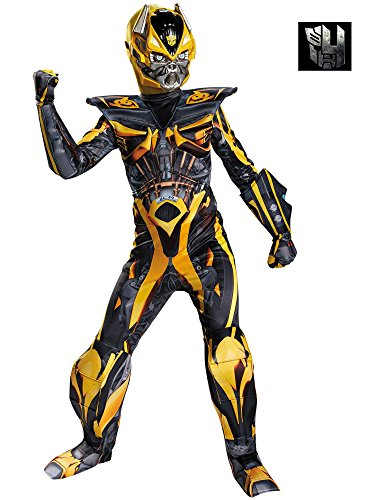 Disguise Hasbro Transformers Age of Extinction Movie Bumblebee Prestige Boys Costume