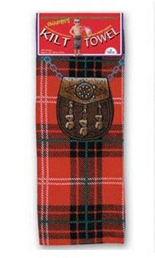 Instakilt Rot Schottenmuster Erwachsene Kilt Handtuch