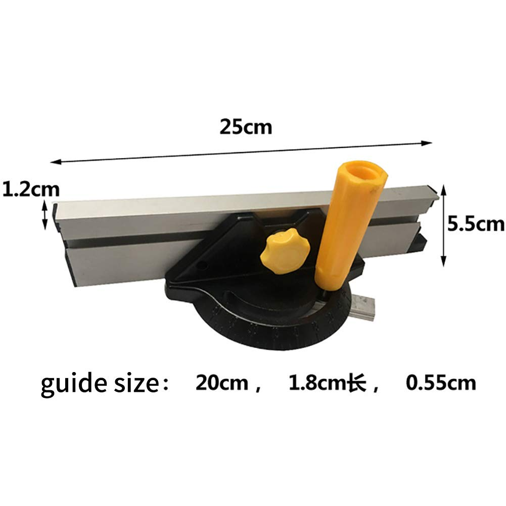 Medidor de inglete de aleación de aluminio para carpintería de ...