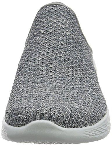 Skechers Ladies You Sneaker, Nero, Grigio Pointure (carboncino)