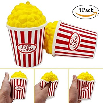 Amazon slow rising jumbo squishy cute popcorn food cream scented slow rising jumbo squishy cute popcorn food cream scented easter stress relief toy for collection gifts negle Gallery