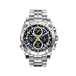 Bulova Men's 47mm Precisionist Stainless Steel Chronograph Watch
