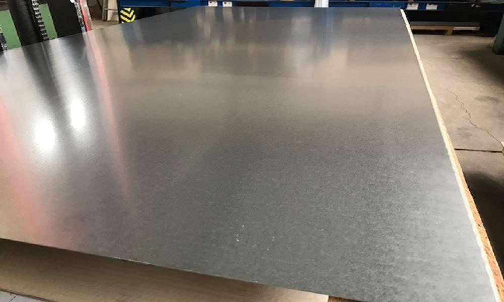 100 mm x 100 mm 3,00 mm verzinktes Stahlblech Eisen Metall Feinblech Blech DX51 bis 1000 x 1000 mm