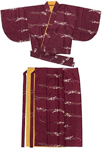 シンプトン苦悩スワップ[キョウエツ] 着物 洗える 二部式着物 袷 小紋 6Ac-10Bd レディース