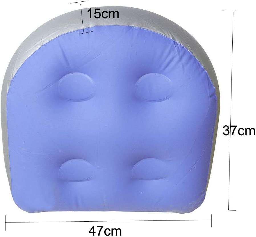 Zumint Booster Seat Hot Tub Spa Cushion Inflatable Pad for Adults Kids