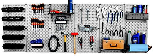 Wall Control 30-WRK-800GB Master Workbench Metal Pegboard Tool Organizer by Wall Control
