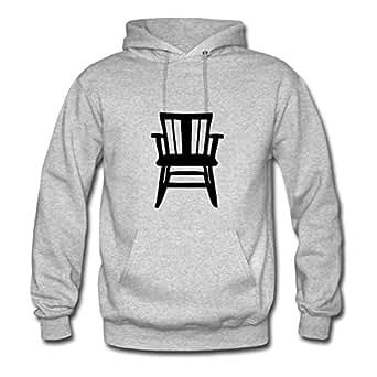 Custom-made Home Chair Cotton Women Lightweight X-large Sweatshirts Grey