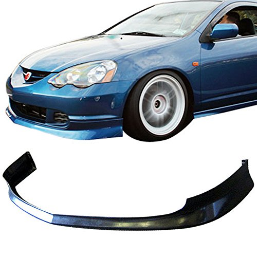 Front Bumper Lip Type (02-04 Acura RSX 2 Door Type-J Add-On Front Bumper Lip Polyurethane)