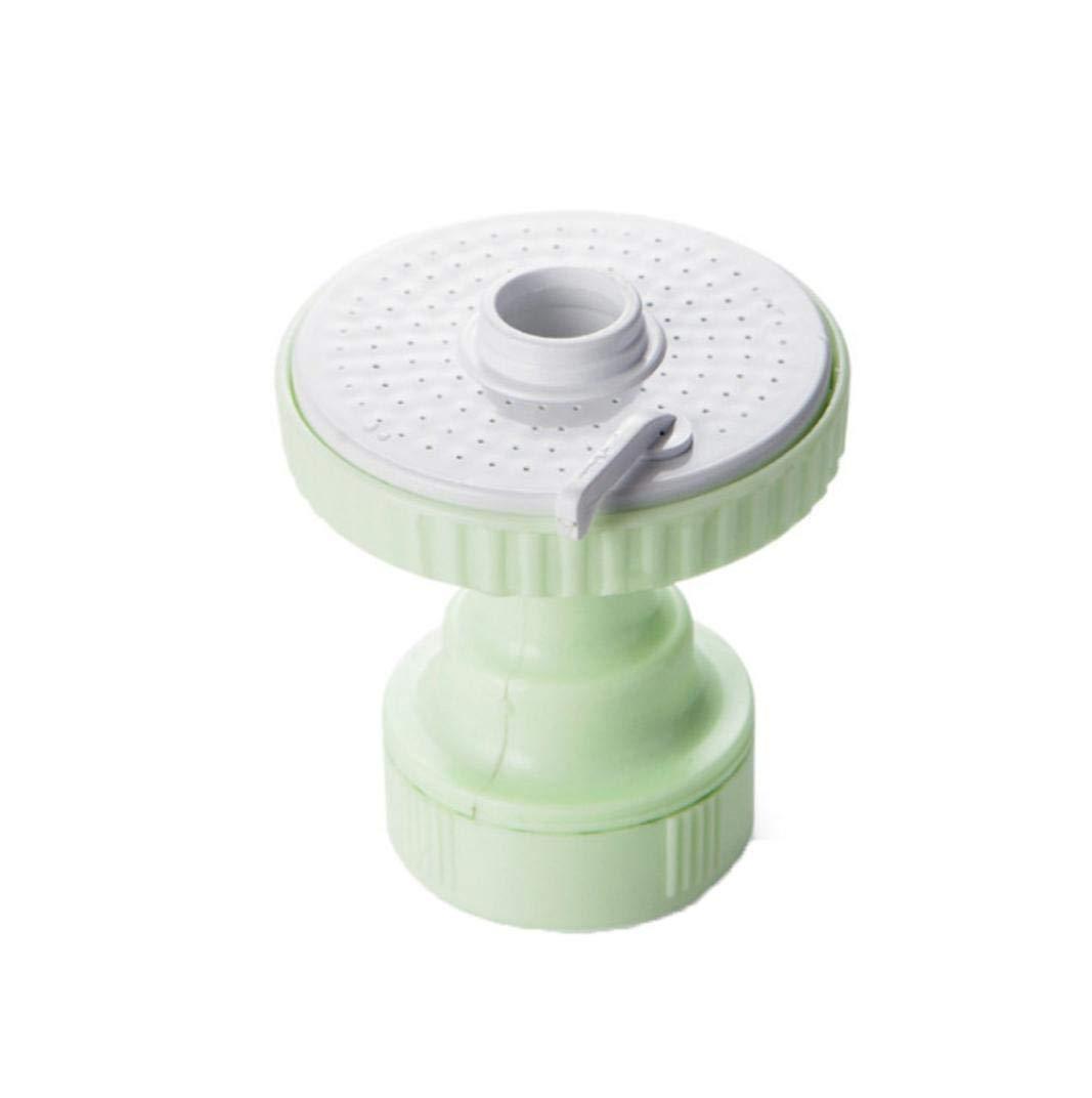Nozzle Filter Adapter,Lovewe Kitchen Faucet Bath Shower Anti Splash Filter,Tap Water-saving Device Head (Green)