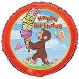 18'' Foil Curious George Balloon