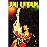 Buyartforless Jimi Hendrix Electric Voodoo 36x24 Music Art Print Poster Rock and Roll Woodstock