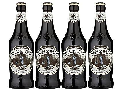 Halloween Bier.Wychwood Black Wych Porter 8x500ml Flasche Halloween Bier