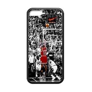 [Accessory] iPhone 5c Case, [Michael Jordan] iPhone 5c Case Custom Durable Case Cover for iPhone5c TPU case (Laser Technology)