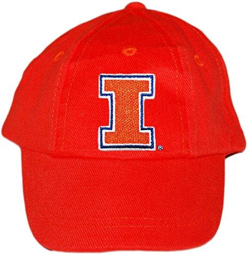 - Creative Knitwear University of Illinois Fighting Illini Baby and Toddler Baseball Hat Orange