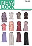 New Look Sewing Pattern 6203 Misses Special Occasion Dresses, Size A (8-10-12-14-16-18)