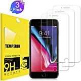 [3Pack] IPhone 8 Plus Screen Protector,TEIROO [9H Hardness] [Anti-scratches] [Anti-Fingerprint] Tempered Glass Screen Protector Compatible iPhone 8 Plus