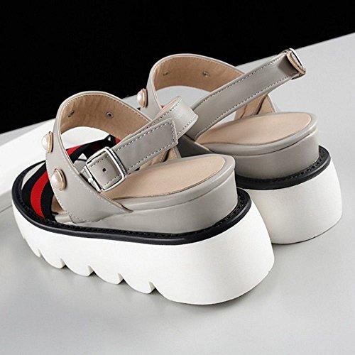 4 Sandli Flatform Zanpa Grey Donna tPaqxX