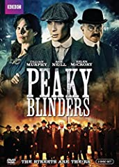 Peaky Blinders, The (DVD)An all-star cast, including Cillian Murphy (The Dark Knight, Inception), Helen McCrory (Skyfall, Harry Potter films), and Paul Anderson (Sherlock Holmes: A Game of Shadows), head up this gangster family epic set in 19...