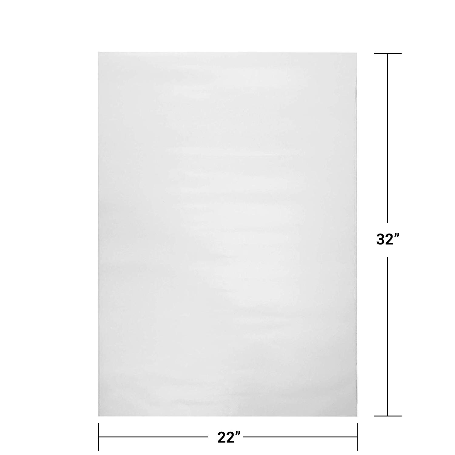 TYH Supplies 1000 Large Sheets Newsprint Packing Paper Unprinted Blank 32 x 22 Inch by TYH Supplies