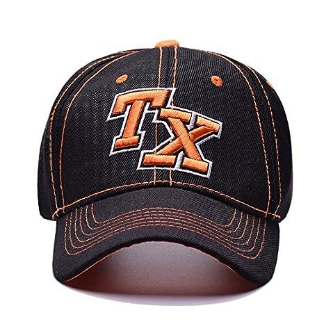 ALWLj Nueva Gorra de béisbol Unisex Deportes Ocio Carta Sombreros bordados  Tx tapa deportiva para hombres y mujeres Hip Hop sombreros e73c291566e