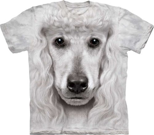 The Mountain Kids 100% Cotton Poodle Face T-Shirt