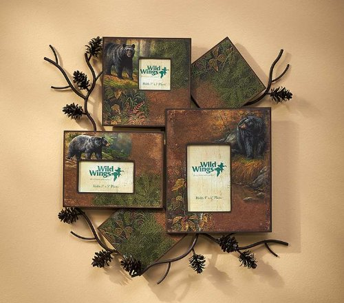 cture Frame Collage by Rosemary Millette (Wild Wings Pinecone)
