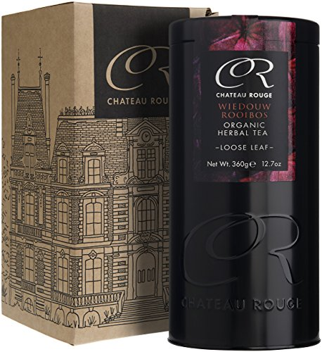Chateau Rouge - Wiedouw Rooibos, Organic Loose Leaf Herbal Tea, 360g Tin