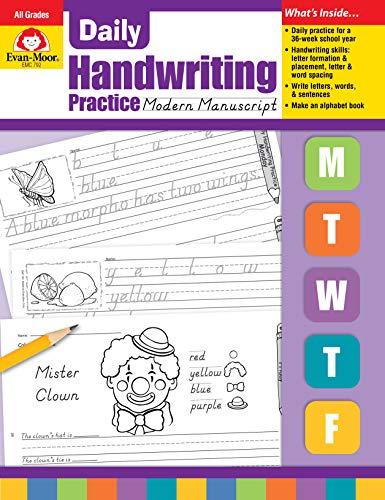 Daily Handwriting Practice, Modern -