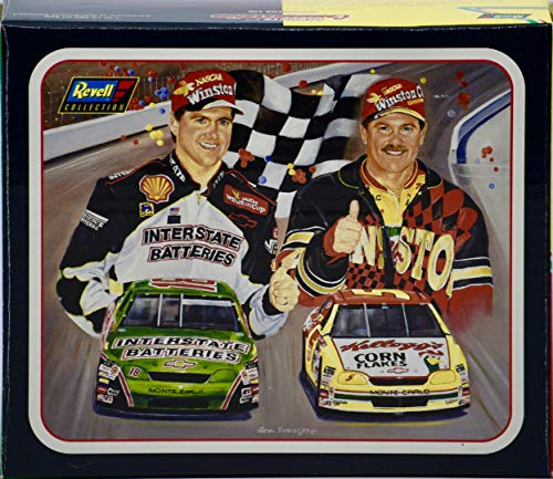 1997 - Revell/NASCAR - 1996 Labonte Bros. Commemorative 2 Car Tin - COA - 1:64 Scale Die Cast Set - Mint - Rare