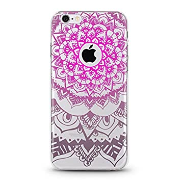 Carcasa transparente para iphone 6 6s mandala 4, color ...