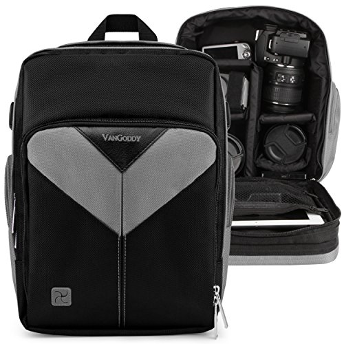 Vangoddy Sparta Grey DSLR & Mirrorless Camera Backpack Suitable for Nikon...