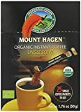 Mount Hagen Organic Instant Regular Coffee, 25 Count Single Serve packet Net wt 1.76 oz (50g)