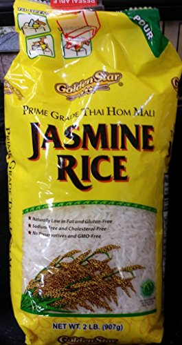 Golden Star Jasmine Rice 2 Lb (Pack of 1) by GoldenStar